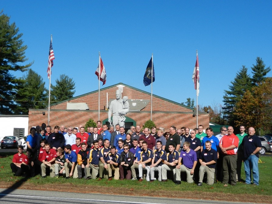 Region 1 in collaboration with DeMolay International held its Advisor Conference on Saturday, October 25, 2014 at the Bektash Shrine Center in Concord, New Hampshire. Derek G. Sprague, Grand Master DeMolay International; Steven  Crane, Grand Senior Councilor, William Sardone, Grand Junior Councilor, Michael C. Russell, Executive Director of the Service and Leadership Center, and James C. Hawkins, International Master Councilor also attended this event. Over 80 Advisors and DeMolays from all the Jurisdictions in Region 1 attended this event. Topics will include the following: •Why do we do what we do?  (That Thing You Do) •Using State Officers to Help Your Chapter •Social Media and DeMolay •Communication Strategy of DeMolay International •Breakout sessions oJOs: Interactive discussion of regional/local programming and cooperation oAdvisors: New advisors, how to get them, how to keep them, how to use them oEOs: Leadership Training Conference and Regional Training Curriculum •Scenarios for the Real Life Chapter •Where Do We Go From Here? - An Interactive discussion